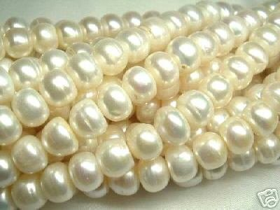wholesale 5 strand 11-12 mm white freshwater pearl