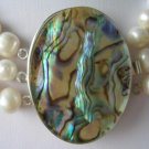 1 pc abalone shell clasp