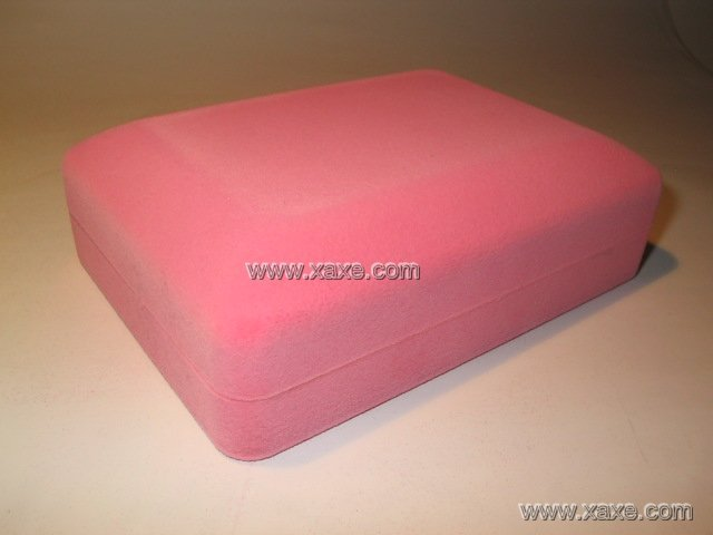 pink velvet jewelry box for jewelry sets