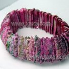 Lovely peach shell bracelet