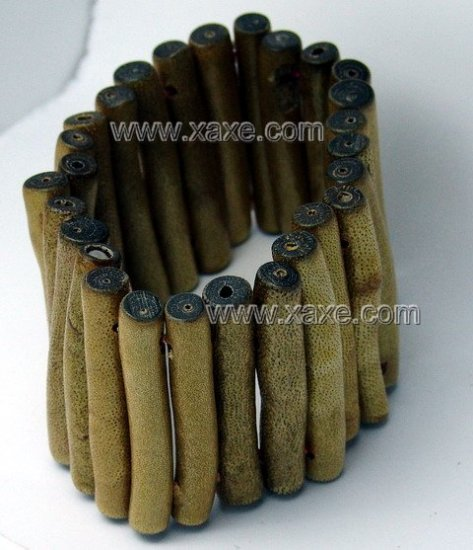Lovely long golden sponge coral bracelet