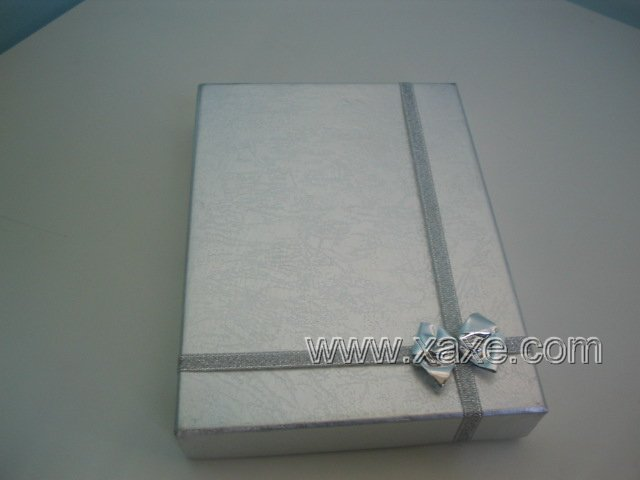 Silver Carbon Jewelry Box