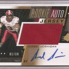 1/1 2011 SP AUTHENTIC SPX JERREL JERNIGAN GOLD ROOKIE AUTO JERSEY 1/1 #1/30 RARE