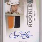 1/1 2009-10 THE CUP CHRIS BUTLER ROOKIE 3CLR PATCH AUTO #249/249 SABRES 1/1
