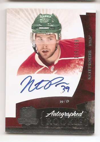 1/1 2010-11 THE CUP NATE PROSSER RC AUTO #199/199 1/1 THE LAST ONE !!