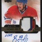 1/1 2011-12 THE CUP BRENDON NASH RC RAINBOW PATCH AUTO 1/47 1/1 4CLR CANADIENS