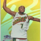 1/1 1998-99 FLEER BRILLIANTS RASHARD LEWIS ROOKIE GOLD #1/24 GEM MINT MIAMI HEAT 1/1
