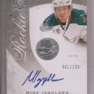 1/1 2008-09 THE CUP MIKE IGGULDEN ROOKIE AUTO 1/1 #1/199 RC SHARKS FIRST ONE 1/1