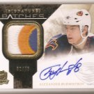 2010-11 THE CUP ALEXANDER BURMISTROV SIGNATURE PATCHES 3 COLOR AUTO #32/75 MINT!