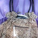 Leopard handbag