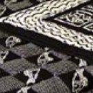 Handmade Cotton Quilt - BLACK MAGIC