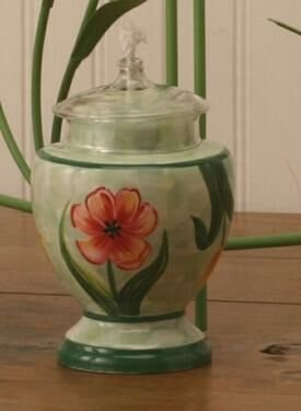 Tulip Ceramic Oil Lamp