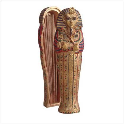KING TUT INCENSE BOX
