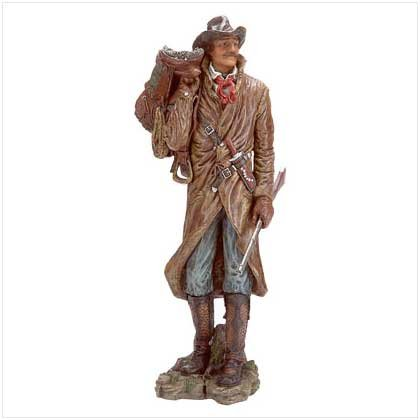 COWBOY W/RIFLE FIGURINE
