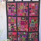 Kuchi Patchwork Tapestry Wall Hanging