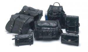 Buffalo Leather Motorcycle Luggage
