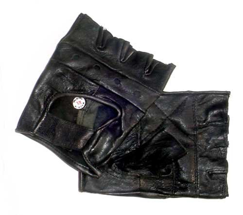 Rebel Ryder Fingerless Gloves