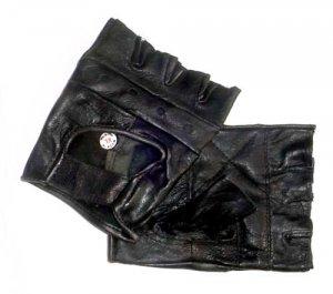 Rebel Ryder Fingerless Gloves