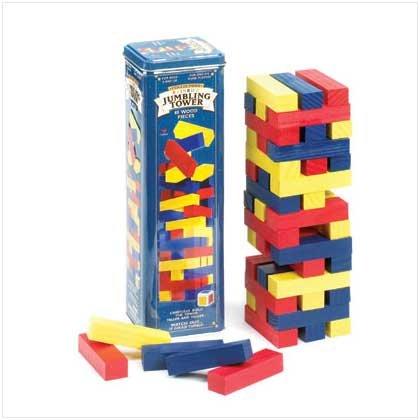 Jumbling Tower Ii Assorted in Tin
