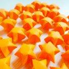 100 Origami Lucky Stars - Orange