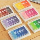 6 Pcs Fingerprint Wedding Tree Ink Pad - Craft Colorful Ink Pad -Gradient Ink Pad