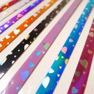 Diamond Sparkle Sweet Heart Origami Lucky Star Paper Strips Star Foldng DIY - Pack of 50 Strips