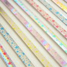 Origami Lucky Star Paper Strips Laser Effect Starry Night - Pack of 60 Strips