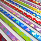 Origami Lucky Star Paper Strips Gemstone Reflective Butterflies Design - Pack of 50 Strips