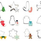 Christmas Cookie Cutters/Santa Biscuit Cutters/Holiday Cookie Mold/Baking Supply/Theme Party