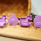 3D Cookie Stamp Cutters/Baby Cookie Stamp/Embossing Cookie Mold/Baking Supply