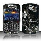 Hard Rubber Feel Design Case for Blackberry Bold 9700/9780 - Midnight Garden