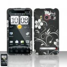 Hard Rubber Feel Design Case for HTC EVO 4G (Sprint) - Midnight Garden