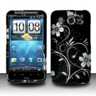 Hard Rubber Feel Design Case for HTC Inspire 4G/Desire HD - Midnight Garden