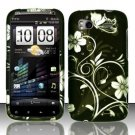 Hard Rubber Feel Design Case for HTC Sensation 4G (T-Mobile) - Midnight Garden