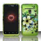Hard Rubber Feel Design Case for LG Revolution 4G/Esteem (Verizon/MetroPCS) - Hawaiian Flowers