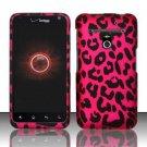 Hard Rubber Feel Design Case for LG Revolution 4G/Esteem (Verizon/MetroPCS) - Pink Leopard