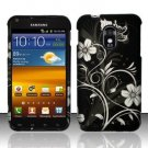 Hard Rubber Feel Design Case for Samsung Epic Touch 4G/Galaxy S2 (Sprint) - Midnight Garden