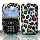 Hard Rubber Feel Design Case for LG 900g (StraightTalk) - Colorful Leopard