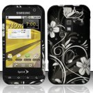 Hard Rubber Feel Design Case for Samsung Conquer 4G (Sprint) - Midnight Garden