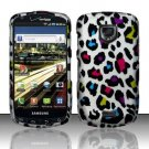 Hard Rubber Feel Design Case for Samsung Droid Charge i520 (Verizon) - Colorful Leopard
