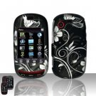 Hard Rubber Feel Design Case for Samsung Gravity Touch - Midnight Garden
