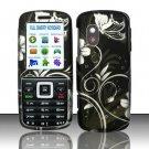 Hard Rubber Feel Design Case for Samsung T401g (StraightTalk) - Midnight Garden