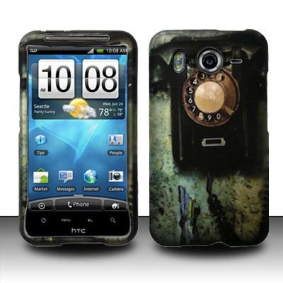 Hard Rubber Feel Design Case for HTC Inspire 4G/Desire HD - Telephone