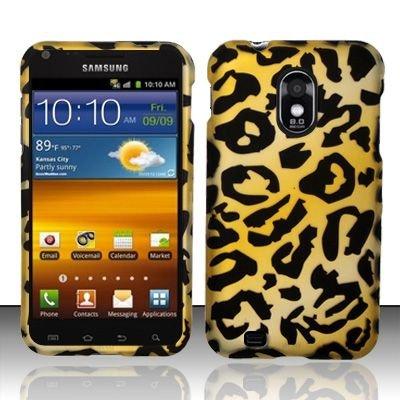 Hard Rubber Feel Design Case for Samsung Epic Touch 4G/Galaxy S2 (Sprint) - Cheetah