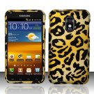 Hard Rubber Feel Design Case for Samsung Epic Touch 4G/Galaxy S2 (Sprint) - Cheetah