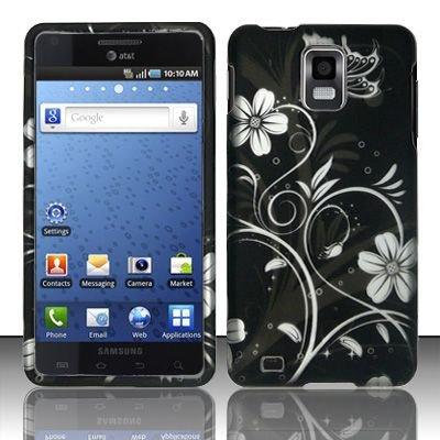 Hard Rubber Feel Design Case for Samsung Infuse 4G - Midnight Garden