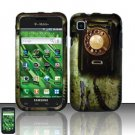 Hard Rubber Feel Design Case for Samsung Vibrant/Galaxy S T959 - Telephone