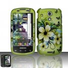 Hard Rubber Feel Design Case for Samsung Epic 4G (Sprint) - Hawaiian Flowers