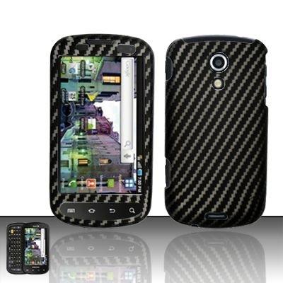 Hard Rubber Feel Design Case for Samsung Epic 4G (Sprint) - Carbon Fiber V2