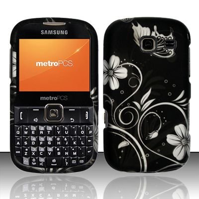Hard Rubber Feel Design Case for Samsung Freeform 3/Comment - Midnight Garden